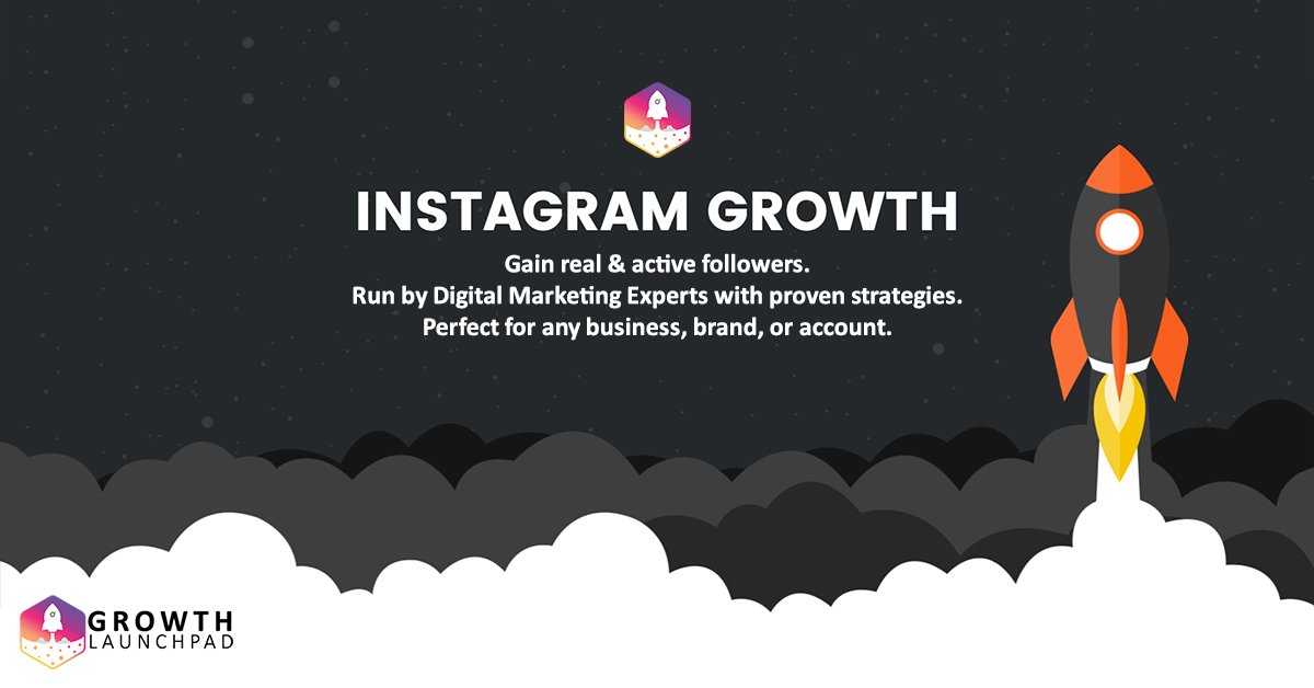 Grow Your Instagram & Gain Real Followers | Growth Launchpad